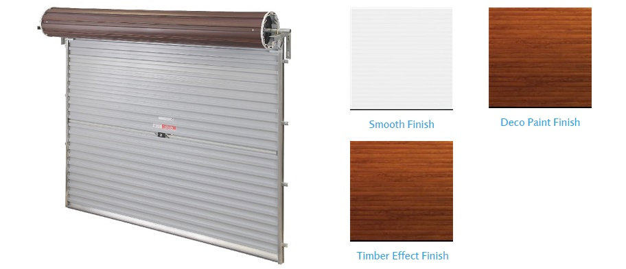 Roller Type Garage Door Range